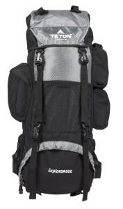 TETON Sports Explorer4000 Internal Frame Backpack grey