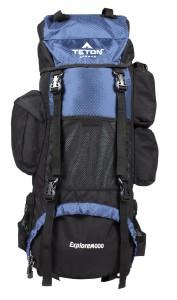 TETON Sports Explorer4000 Internal Frame Backpack Blue