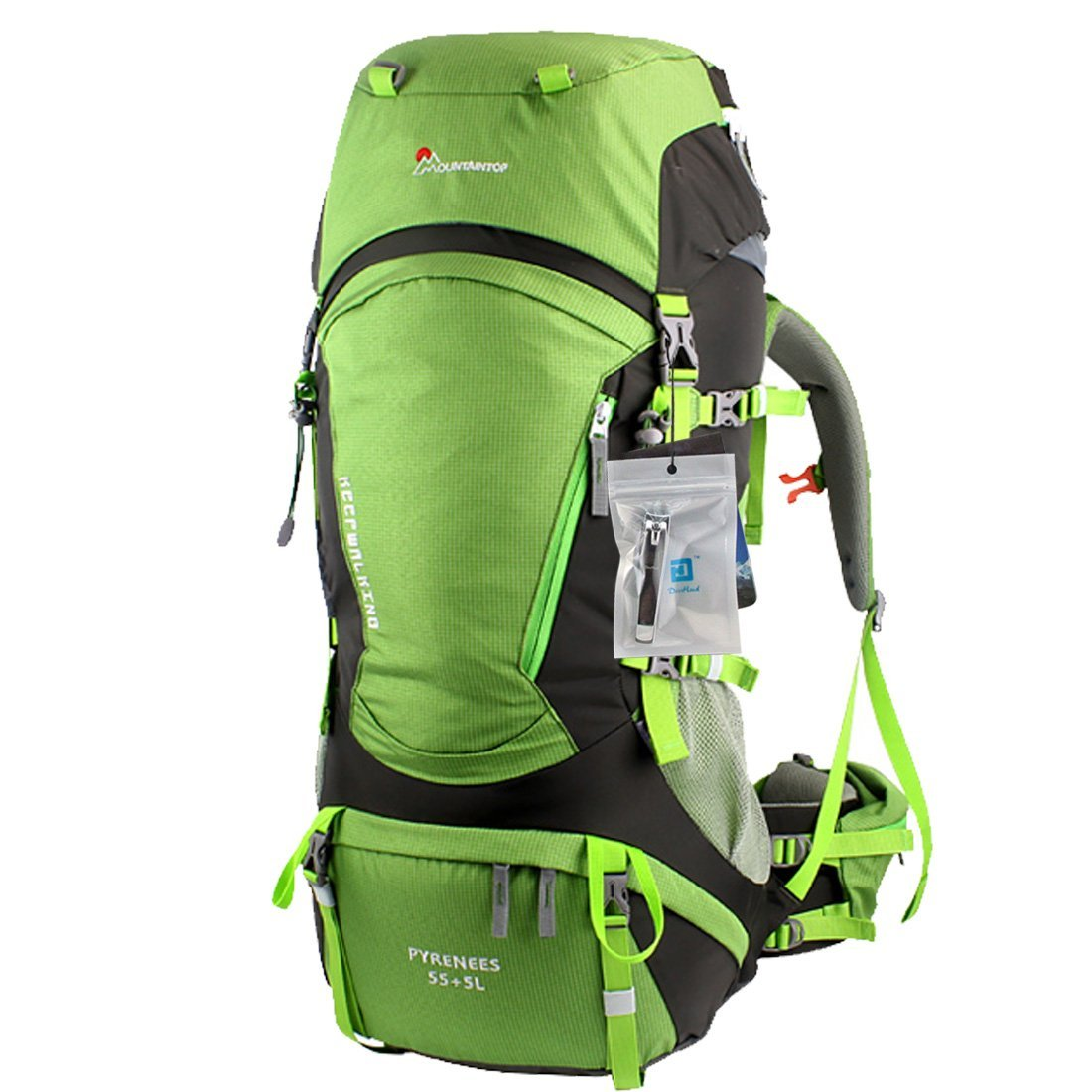 Mountaintop® Outdoor Hiking Climbing Canvas Internal Frame Backpacks ...