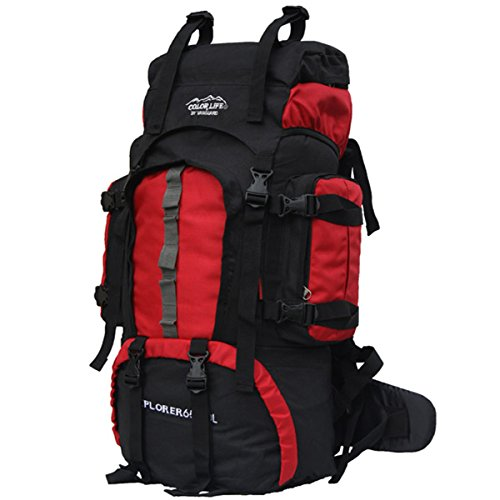 HFIRE Vanguard 65L Internal Frame Backpack for Camping Hiking Mountaineering