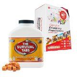 New Emergency First Aid Kit 167 Pieces + Business Contingency Planning Camping-Hiking-Backpacking Survival Ration MREs 15-day Supply 25 Years shelf life Gluten Free and Non-GMO - Butterscotch Flavor