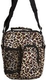 World Traveler Animal Print Collection Hipster Crossbody Daypack 7-inch