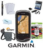 Garmin Monterra Hiking and Backcountry Bundle (6GB Worldwide Versoin) w/ 32GB MicroSD,4 AA Rechargable Batteries + Charger, Lowepro Case, Cleaning System, Microfiber Cloth, Screen Protectors, Android Multimedia Touch Handheld GPS GLONASS 8 Megapixel Camera HD Video Bluetooth WIFI 010-01065-00