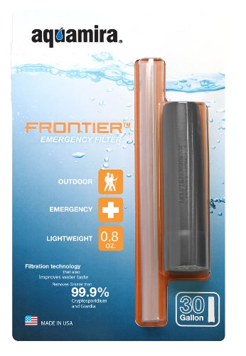backpacking water filtration