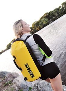 Waterproof Backpack - Compression Backpack for Canoeing, Camping, Travelling, Kayaking, Boating, Hiking