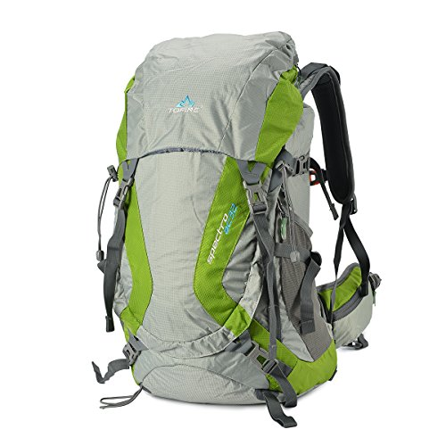 TOFINE Large External Frame Backpack Survival Daypack with Rain ...