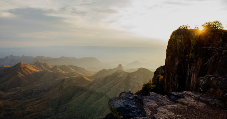 Big bend national park on the border of texas and mexico