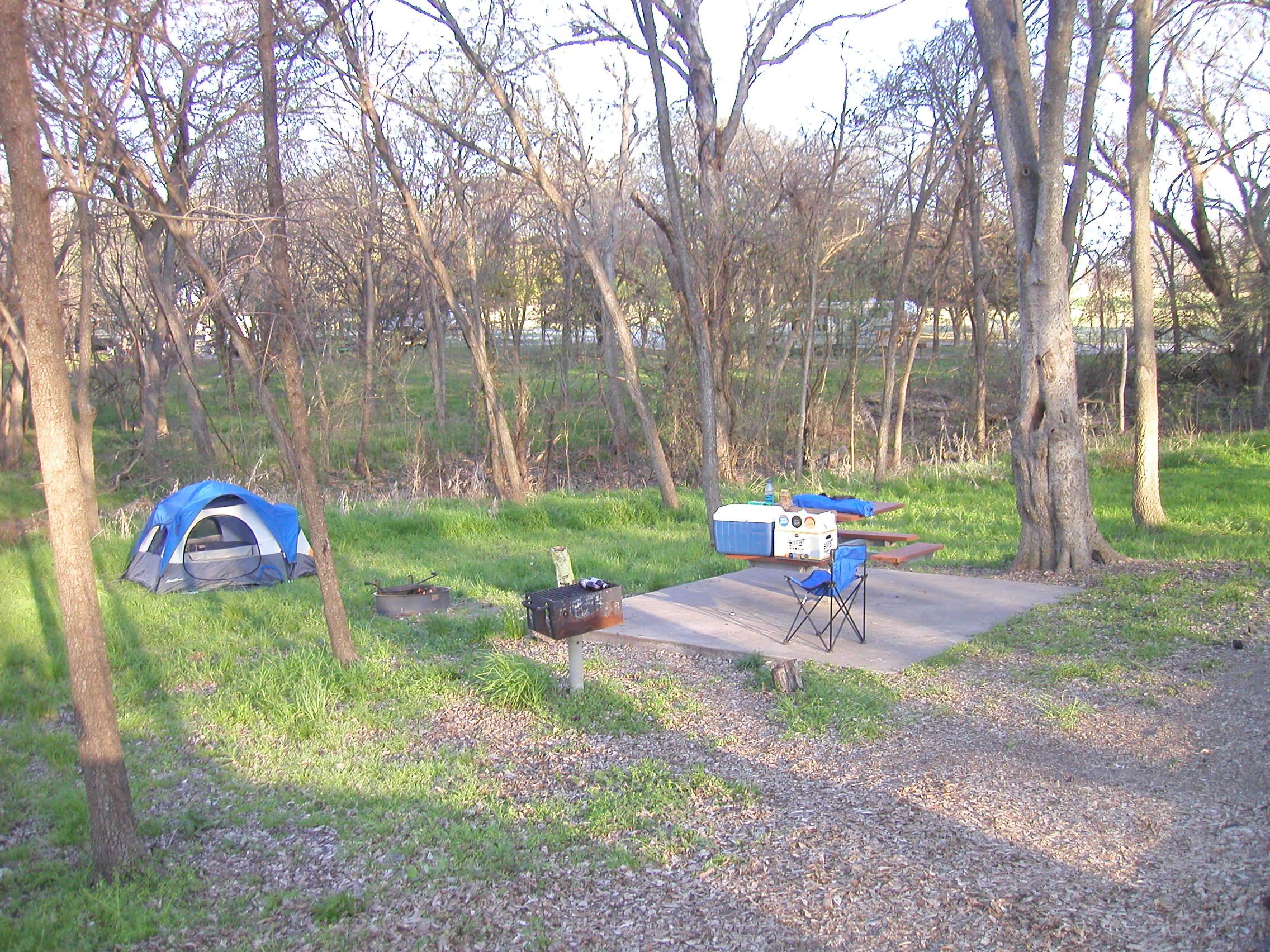 texas camping