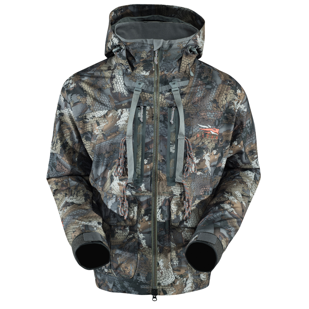 Backpacking jacket