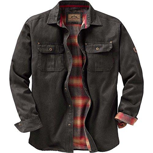 7769976b07a Legendary Whitetails Mens Journeyman Shirt Jacket Tarmac X-Large ...