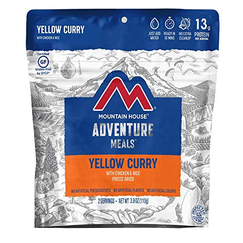 Mountain House Yellow Curry with Chicken & Rice | Freeze ...